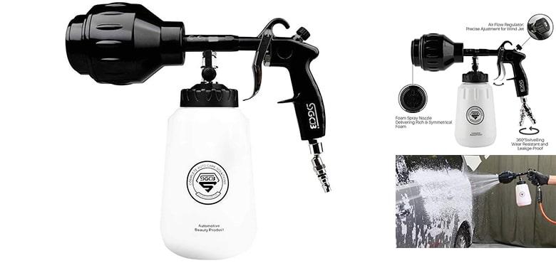 Best Car High Pressure Cleaning Tools - SGCB Pro Car Foamer Gun Cannon