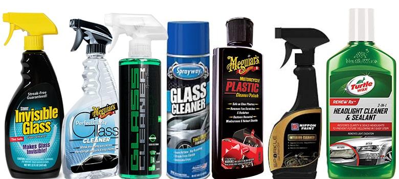 Car Glass Cleaner Spray,