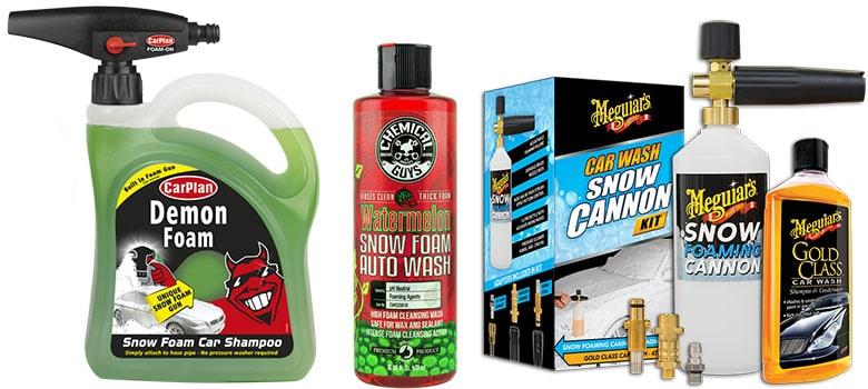 Snow Foam Car Wash
