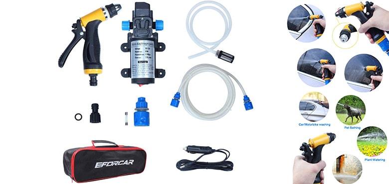EFORCAR Electric Car Washer, High Pressure Car Washer Pump