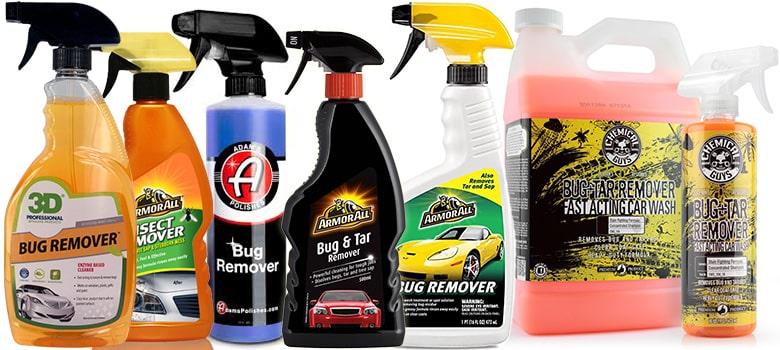 Car bug & tar Removers
