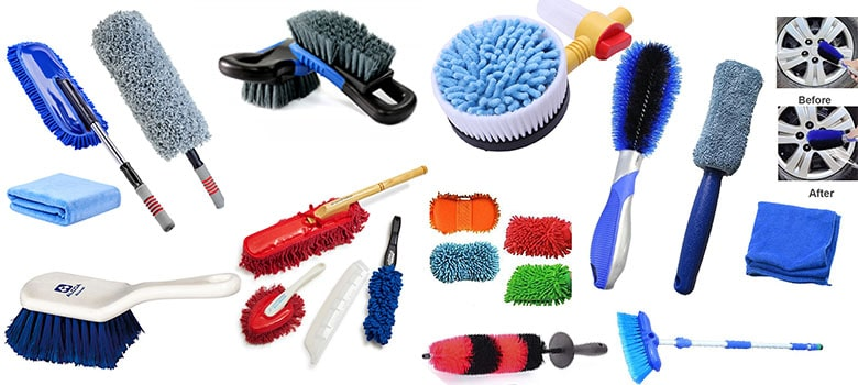 Car Wash Brush and Wheel, Tire brush