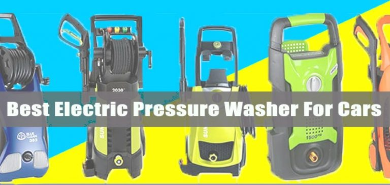 best pressure washer for cars cleaning and detailing - Electric power washer