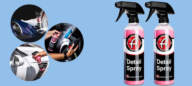 adam's polishes detail spray