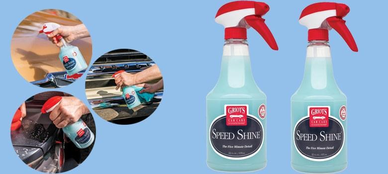 Griot's Garage Speed Shine Car Detailing Spray