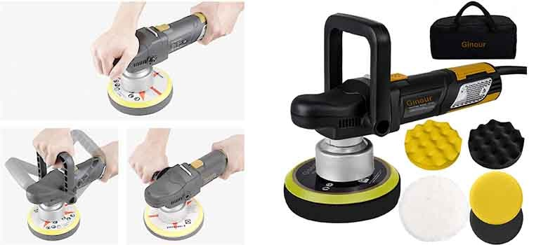 electric car buffer - dual action polisher