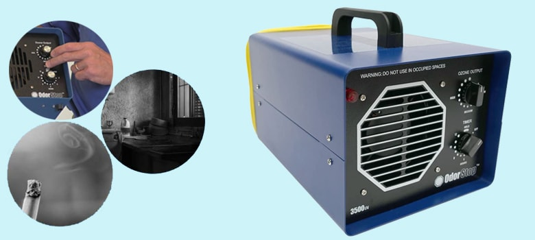 best ozone machine for car