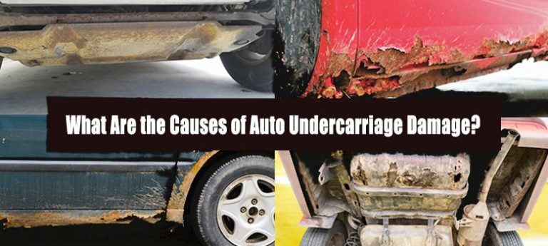 What is Undercarriage Car Damage? Dealing with Car Frame Damage