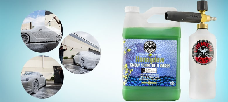 Chemical Guys EQP_312 TORQ Professional Foam Cannon With Snow Foam Cleanser