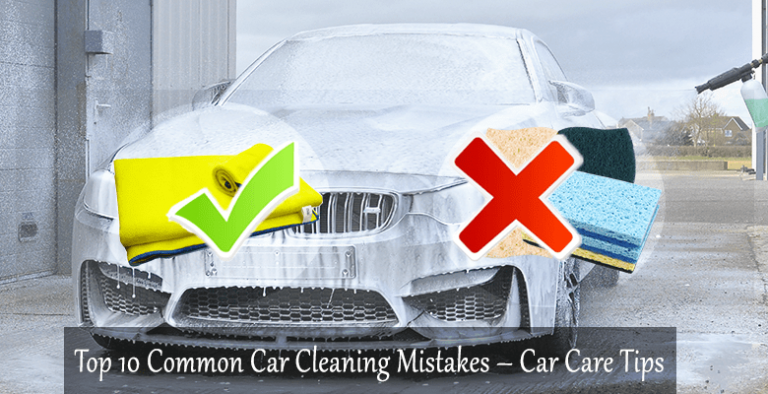 Top 10 Common Automotive Cleaning and Detailing Mistakes