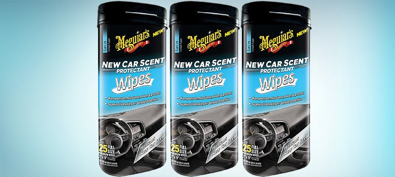 Meguiar's G4200 New Car Scent Protectant Wipes