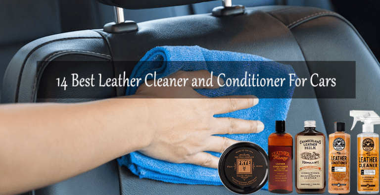 best leather cleaner and conditioner for cars